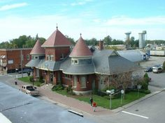 Petrolia Library National Railways, Canadian National Railway, Old Train Station, Train Stations, Ontario, Anglican Church, Outdoor Showers, Place To Shoot, Canada
