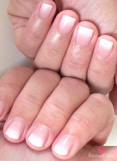 Really easy ombre french tip nail tutorial!