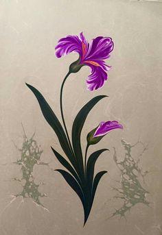 Süsen çiçeği - Firdevs Çalkanoğlu
