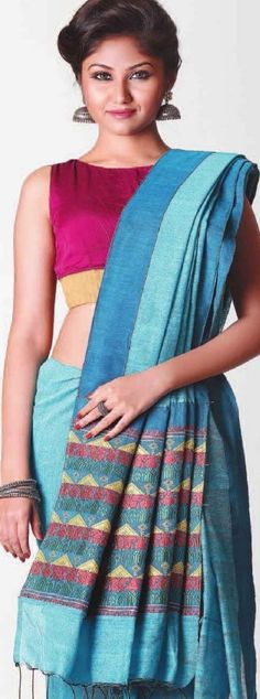 Assamese tribal Miri weave -  original pin by @webjournal