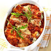 Käse-Tomaten-Cannelloni