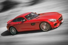 As only the second sports car developed entirely in-house at Mercedes' sports division AMG, the 2016 Mercedes-AMG GT has some lofty standards to live up to. It'll arrive in both standard GT (456hp) and GT-S (503hp) variants, featuring lightweight aluminum construction and a newly developed AMG 4.0-liter V8 biturbo engine that's hand-assembled by a master engine builder.
