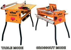 Table and crosscut modes