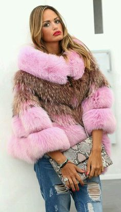 Pink jackal