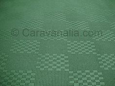 Green Open Weave 2.5 wide Premier Open Weave Groundsheet