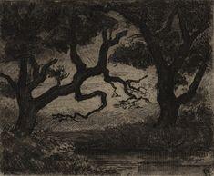 Carel Nicolaas Storm van s' Gravesande - The Pond in the Wood at Vaassen, c.1872