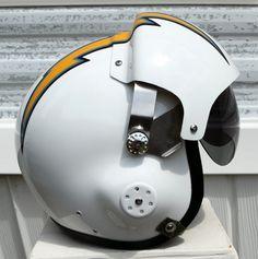 san diego chargers pilot helmet