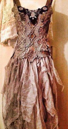 Rag dress absolutely stunning.