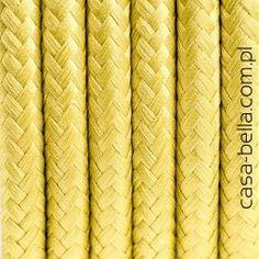 Przewód zasilający Grecka Oliwka od Kolorowe Kable- oliwkowym kabel - casa-bella - oświetlenie to nasza pasja