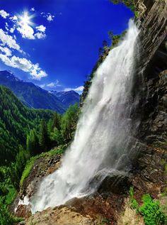 Tyrol's highest waterfall, Austria
