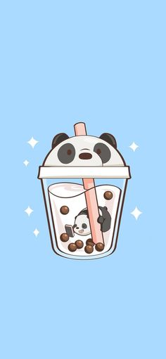 We Bare Bears discovered by Naty on We Heart It Wallpaper Panda, Panda Wallpapers, Black Phone Wallpaper, Cute Anime Wallpaper, Mood Wallpaper, Cute Disney Wallpaper, Cute Cartoon Wallpapers, Cute Wallpaper Backgrounds, Aesthetic Iphone Wallpaper