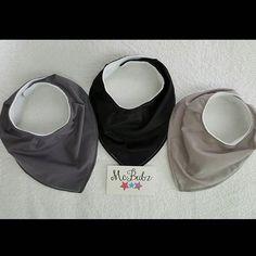 Loving these solid fabrics :-) Almost ready to be posted xx #McBubz #babybibs #banadanabibs #neutral #bibdana #homemade #supportlocal #australia #nsw #southcoast #burpingcloths #babyshowergift #babyboy #babygirl #gift #babyshower #baby #black #monochrome