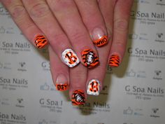 Bengal nail art designs