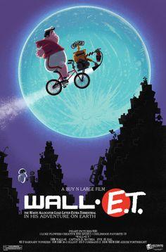 Amusing Pixar Poster Mashup Series
