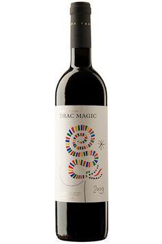 Drag Màgic DO Costers del Segre Negre. wine / vino mxm