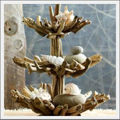 Seaside Inspired | driftwood stand from SeasideInspired.com. Become inspired with driftwood stand from Seaside Inspired.