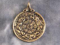 Anhänger Tibetischer Kalender ~ Tibet (1308)