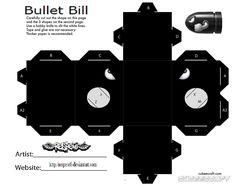 Bullet Bill Cubee by Respeto6.deviantart.com on @deviantART