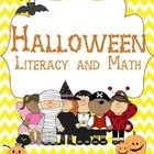 Halloween Literacy and Math activities!!!!  This packet is an awesome way to bring your student's excitement for Halloween and get them engaged in ...