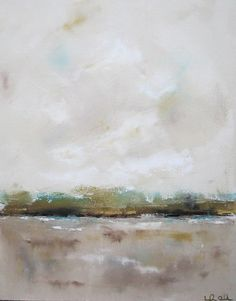 Coastal+Abstract+Beach+Painting+Original+Art+Sand+by+lindadonohue,+$345.00