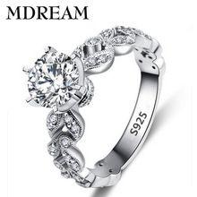 Много листьев стиль s925 серебряное Кольцо с Платиновым покрытием цирконий романтический женщины кольца ювелирные изделия для Обручальных оптовая LSR097(China (Mainland))