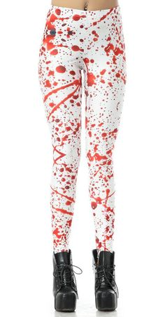 Cheap legging pants, Buy Quality leggings leggings directly from China printed women pants Suppliers: New Arrival 3061 Sexy Girl Women Halloween What A Mess Blood drop Prints Elastic Fitness Polyester Walking Leggings Pants Cheap Leggings, White Leggings, Leggings Are Not Pants, Printed Leggings, Women's Leggings, Workout Leggings, Galaxy Leggings, Halloween Leggings, 3d Prints
