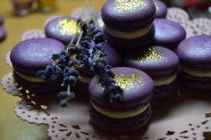 My levander macarons :)