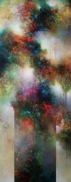 Sweet Immersion, Cody Hooper, acrylic. $4400. #abstractart #contemporaryart #codyhooper
