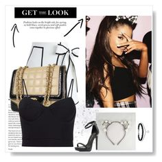 """""""Ariana Grande"""" by atusername on Polyvore featuring Chicwish, Chanel and Alexander Wang"""