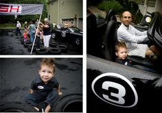 Amazing race car birthday party...wow.... seriously. wow.