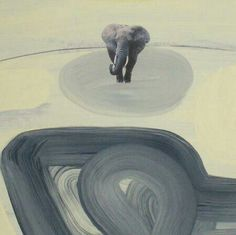 Mafonso, il Mondo, pittura su cartone cm 100x70, anno 2004
