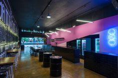 Pajubar,© Felipe Gontijo Restaurant Bar, Neon Signs, Interiors, Design, Architecture, Shop Interiors, Hotels, Restaurants, Fotografia