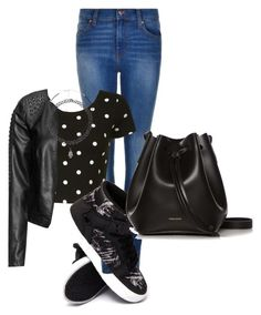"""Untitled #366"" by dinka1-749 ❤ liked on Polyvore featuring Dr. Denim, Glamorous, Supra, Rachael Ruddick, Zizzi and Charlotte Russe"