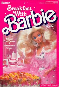 Breakfast With Barbie Cereal