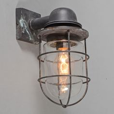 Shop for Wall Lamp Titanic Bronze online! Cool Lamps, Lamp, Home Lighting, Steampunk Lighting, Diy Shades, Wall Lamp, Exterior Lighting, Bronze, Lights
