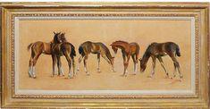 One Kings Lane Vintage Horse Portraits by Walt Wooten