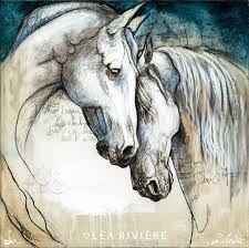 Resultado de imagem para pintura em tela de cavalos