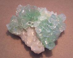 Beautiful Green Apophyllite (Fluorapophyllite) specimen