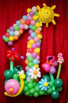 decoracion globos tortugas ninja - Buscar con Google