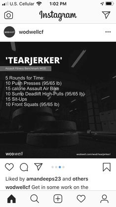 Wod Workout, Workout Days, Travel Workout, Fun Workouts, At Home Workouts, Crossfit At Home, Crossfit Wods, Full Body Workout Routine, Workout Routines