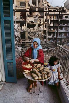 """hopeful-melancholy: """" Beirut, Lebanon. Taken by Steve McCurry """""""