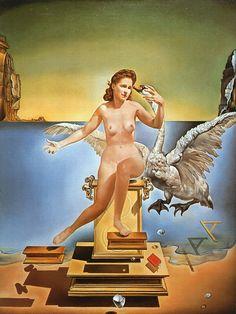A Musa InsPiradora de Salvador Dali: Gala Éluard Dalí. Um homem que via o seu amor em tudo, mulher de sorte...