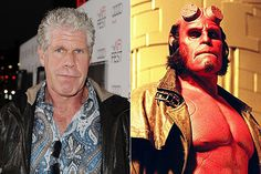 Ron Perlman/Hellboy   The Best Special Effects Makeup Before And Afters