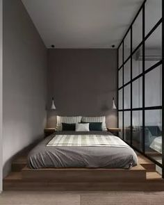 Magnificent Small Master Bedroom Ideas (Coloring, Decorating, And Storage Design. Magnificent Small Master Bedroom Ideas (Coloring, Decorating, And Storage Design Ideas) Serene Bedroom, Small Master Bedroom, Master Bedroom Makeover, Korean Bedroom, Japanese Style Bedroom, Japanese Inspired Bedroom, Apartment Interior, Apartment Design, Cozy Apartment