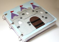 Fairy Tale Castle Quiet Book Pattern Busy Book by CopyCrafts