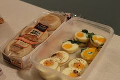 Amy's Kitchen Creations: Eggs for breakfast sandwiches