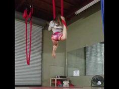 Aerial Yoga Tricks Scorpion - YouTube