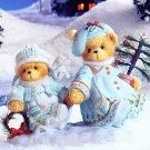 CHERISHED TEDDIES ''SELMA & ARIANA WINTER WONDERS #112390 NEW IN BOX ebay