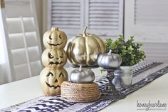 Get some Halloween Decoration Ideas from my spooky decorations this year!
