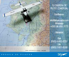 Listos para iniciar una nueva semana?  hacia donde navegamos hoy?    Fórmate como Piloto Comercial en #Ecuador !  Siguiente curso:  #Quito - ENERO  #Guayaquil - ENERO   - Matrículas Abiertas.  Analiza nuestra experiencia, permisos, costos, nivel académico, flota, simuladores, facilidades, bases operativas, etc.  Para mayor información escríbenos a: info@skyecuador.com o mensajes WhatsApp 096 906 3172  Teléfonos:  02 601-8230 #Quito  04 600 8250 #Guayaquil   http://goo.g
